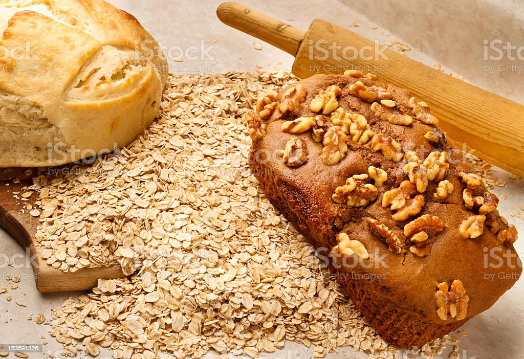 Harvest Bread Series royalty-free stock photo