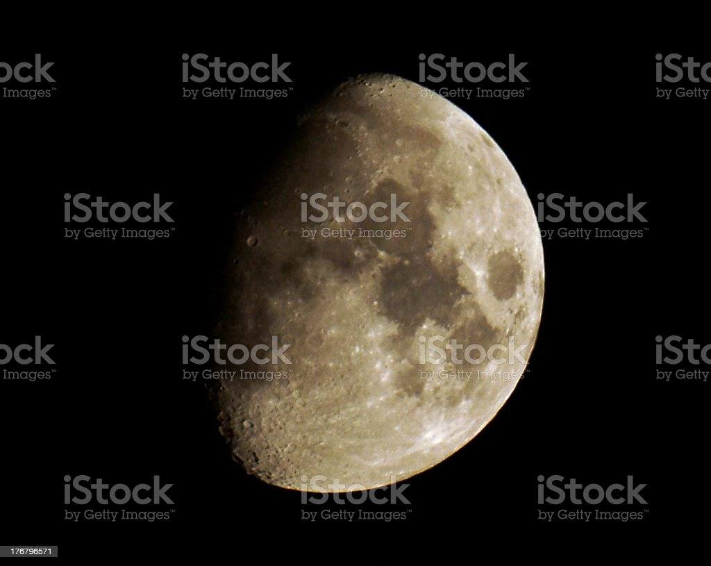 Harvest Moon royalty-free stock photo