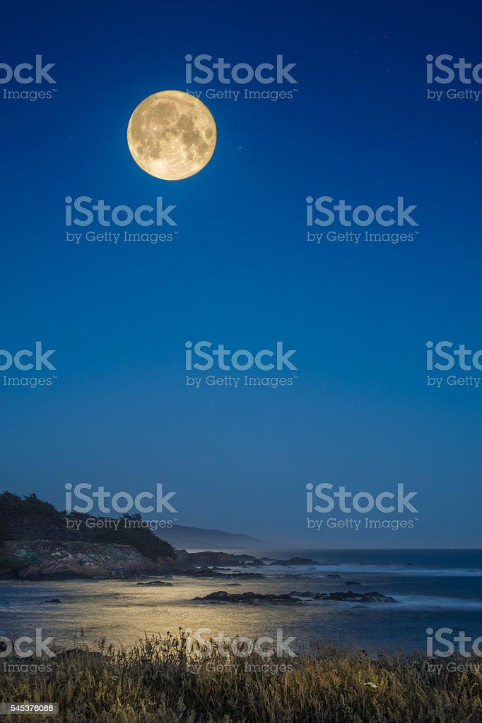 Harvest Moon stock photo