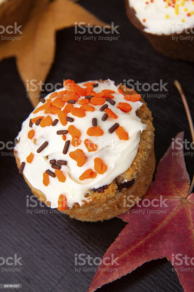 Harvest muffins royalty-free stock photo