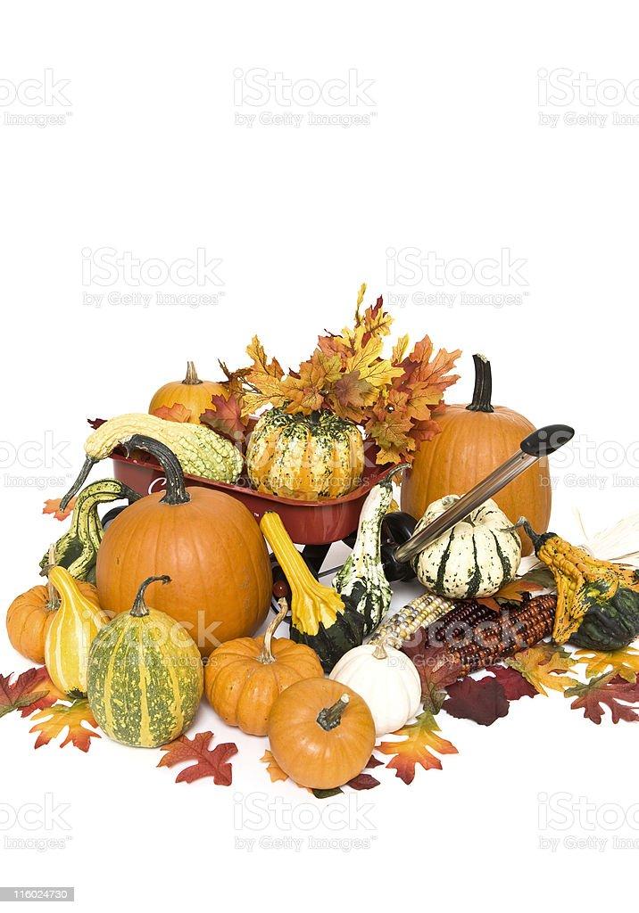 Harvest Wagon royalty-free stock photo