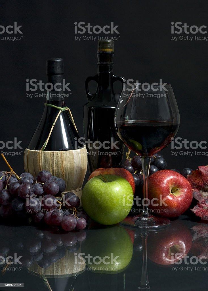 Harvest Wine royalty-free stock photo