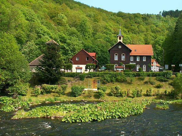 harz national park-treseburg an der bode nahe bodeschlucht - andreas weber stock-fotos und bilder