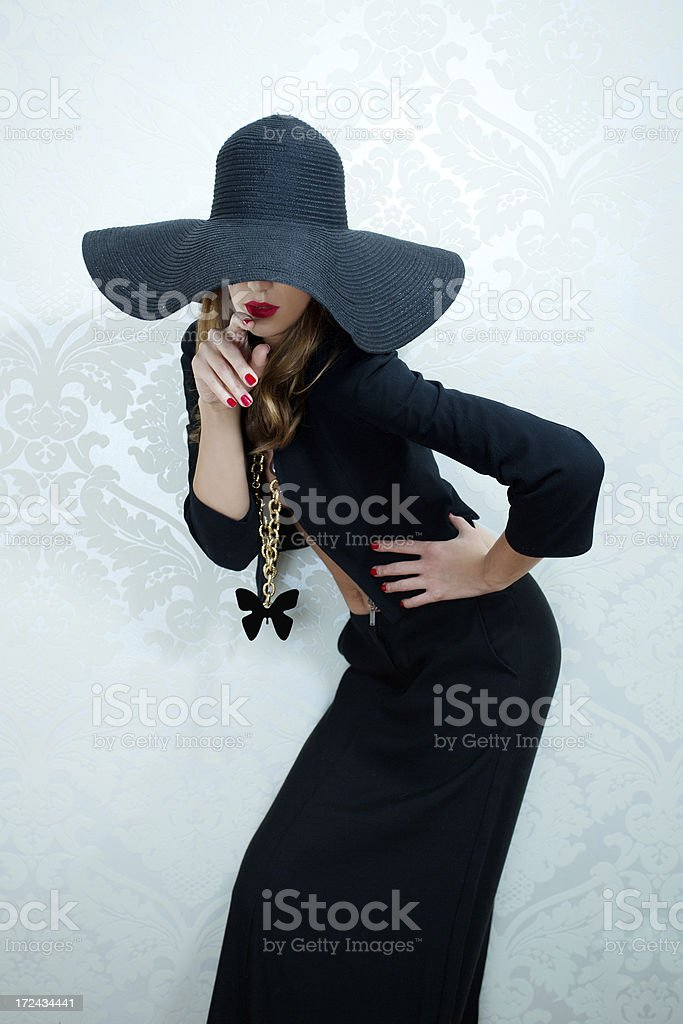 hat fashion royalty-free stock photo
