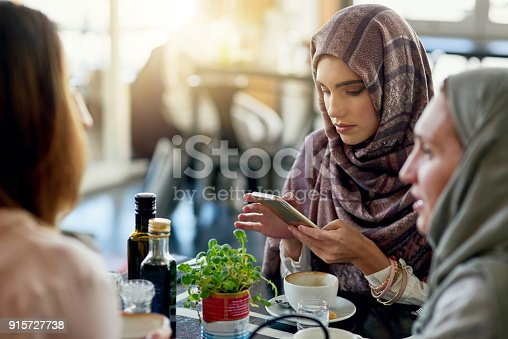 istock Has her phone replaced her friends? 915727738