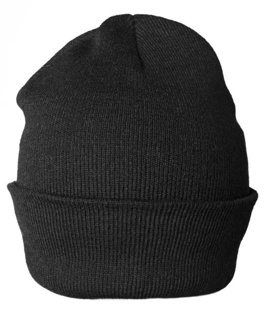 Hat. Black Hat knit hat stock pictures, royalty-free photos & images
