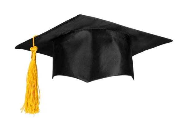 hat. - graduation cap stock pictures, royalty-free photos & images