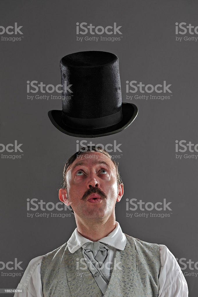 Hat Trick stock photo