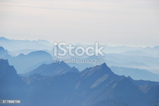 istock Hase and panoramic view Swiss alps 517866756