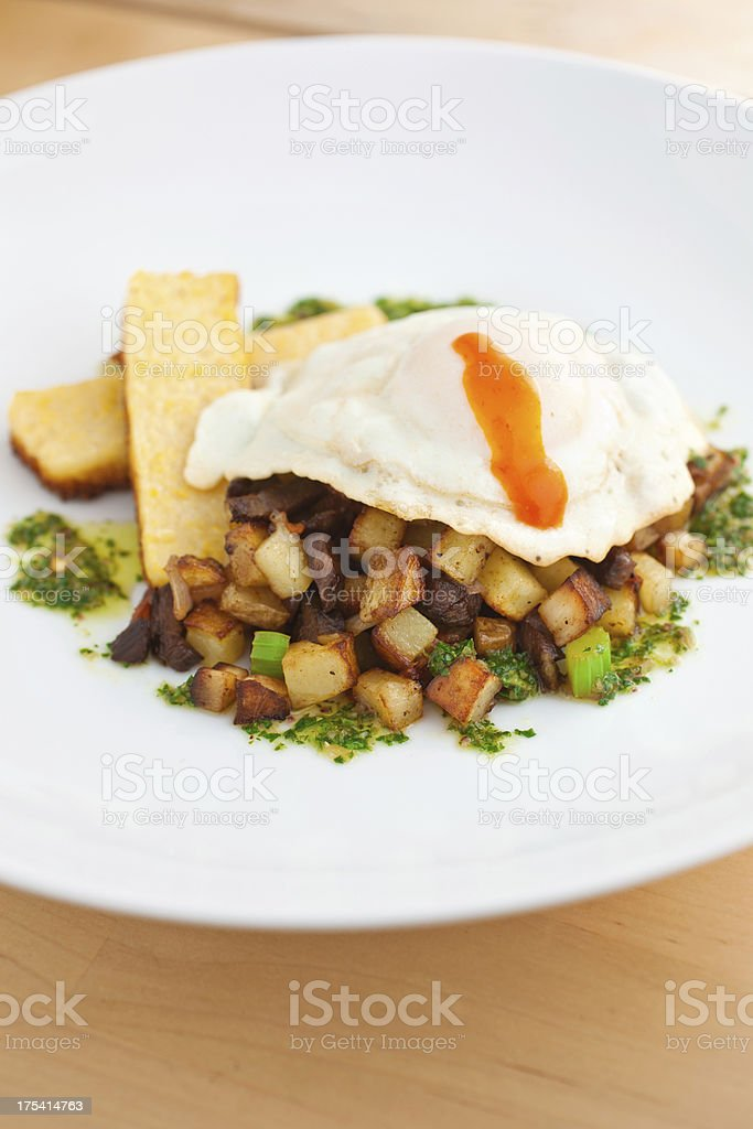 Hash and Egg royalty-free stock photo