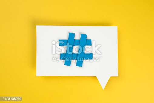 istock Hashtag 1125108070