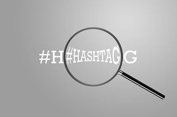 Hashtag-Lupe – Foto