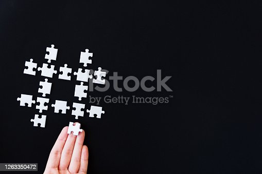 1155191162 istock photo Hashtag, using, surfing, searching on internet, blogging concept. 1263350472