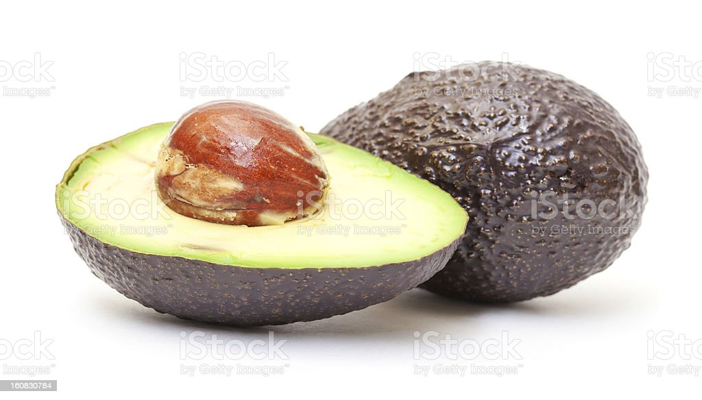 Hass Avocado stock photo