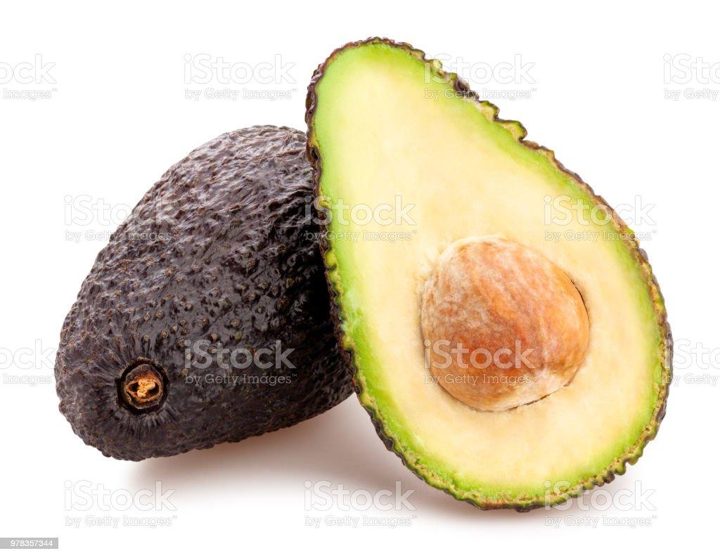 Abacate hass - foto de acervo