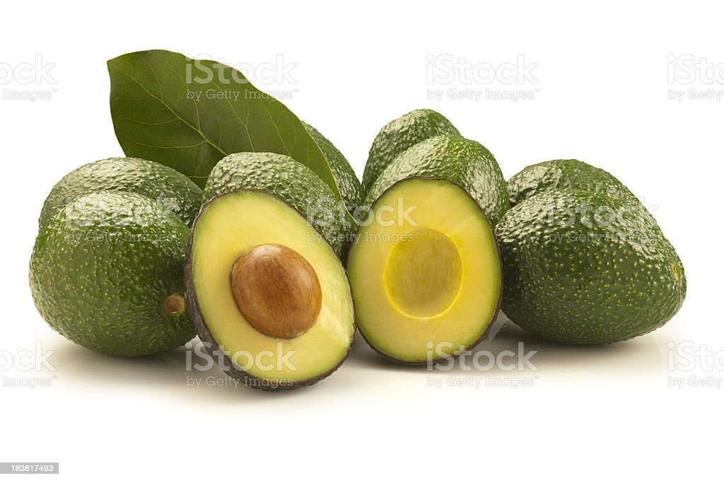 Hass Avocados stock photo