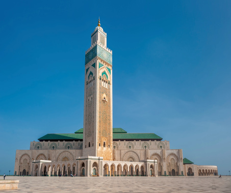 Hassan Ii Mosque Casablanca Morocco Stock Photo - Download Image Now