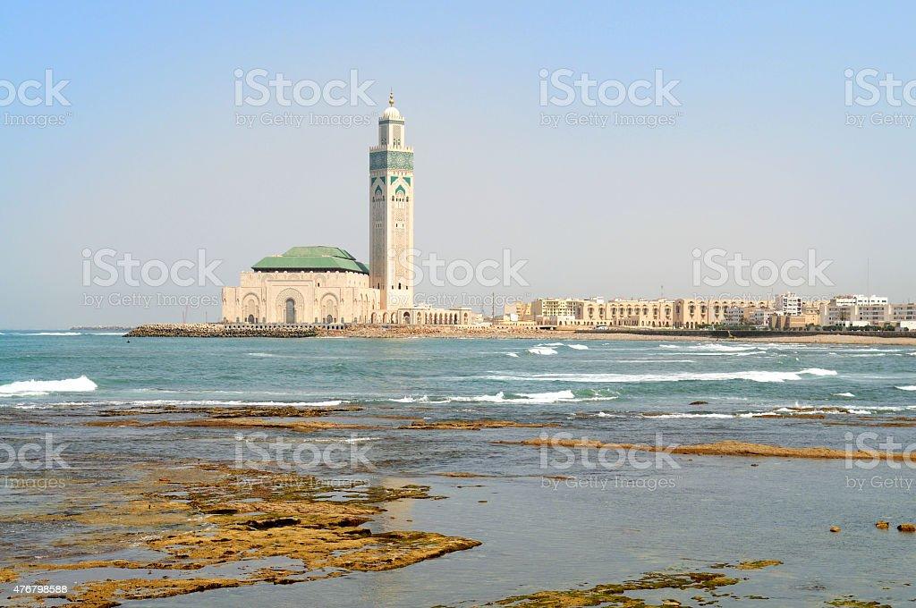 Hassan II Mosque. Casablanca, Morocco. stock photo