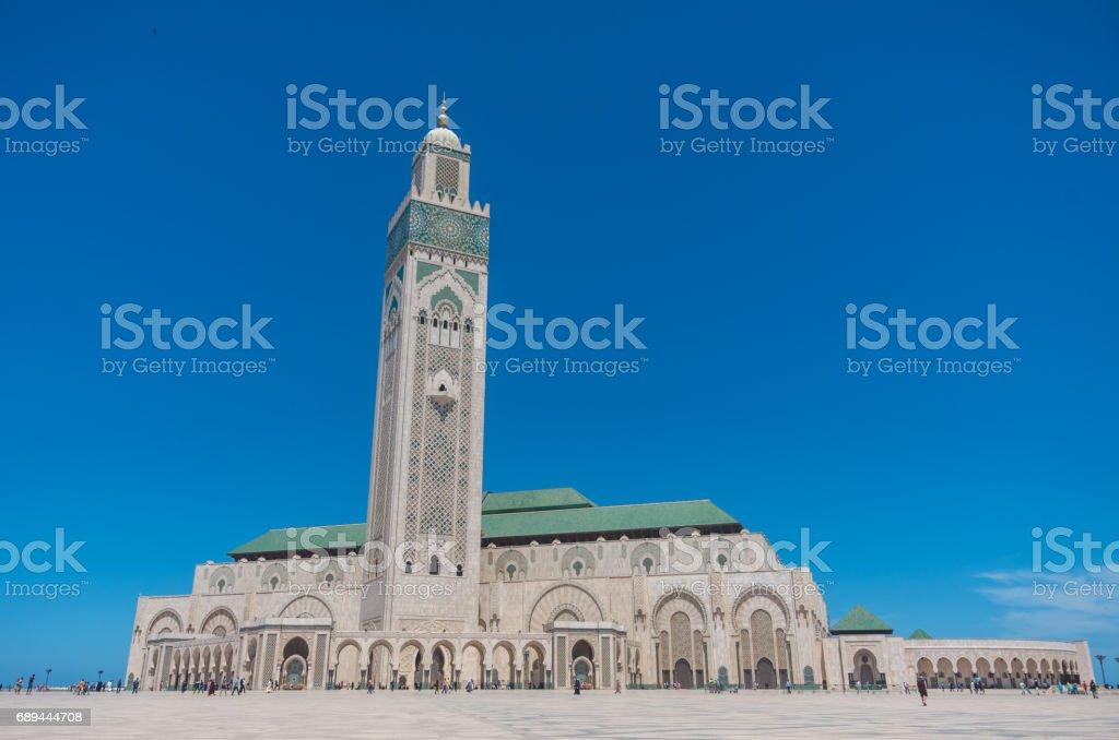 Hassan II Mosque Casablanca, Morocco stock photo