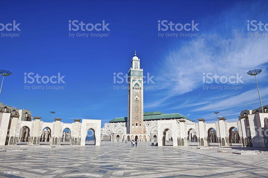 Hassan II Mosque Casablanca royalty-free stock photo