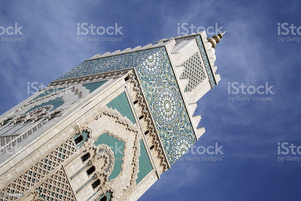 Hassan II. Mosque, Cassablanca, Morocco royalty-free stock photo