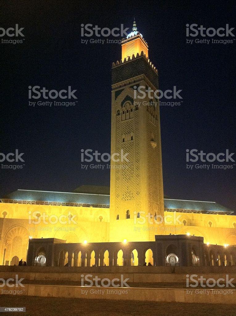 II Hassan Mosque / Casablanca stock photo