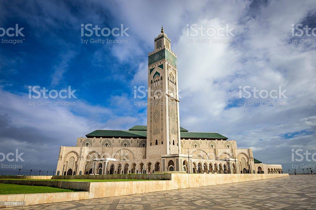 Hassan Mosque stock photo