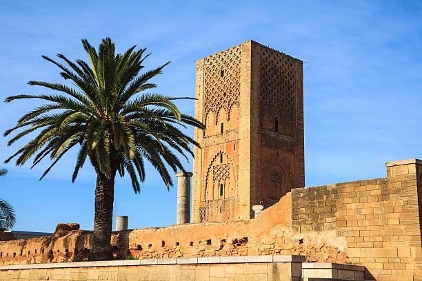 Hassan tower in rabat, Marokko – Foto