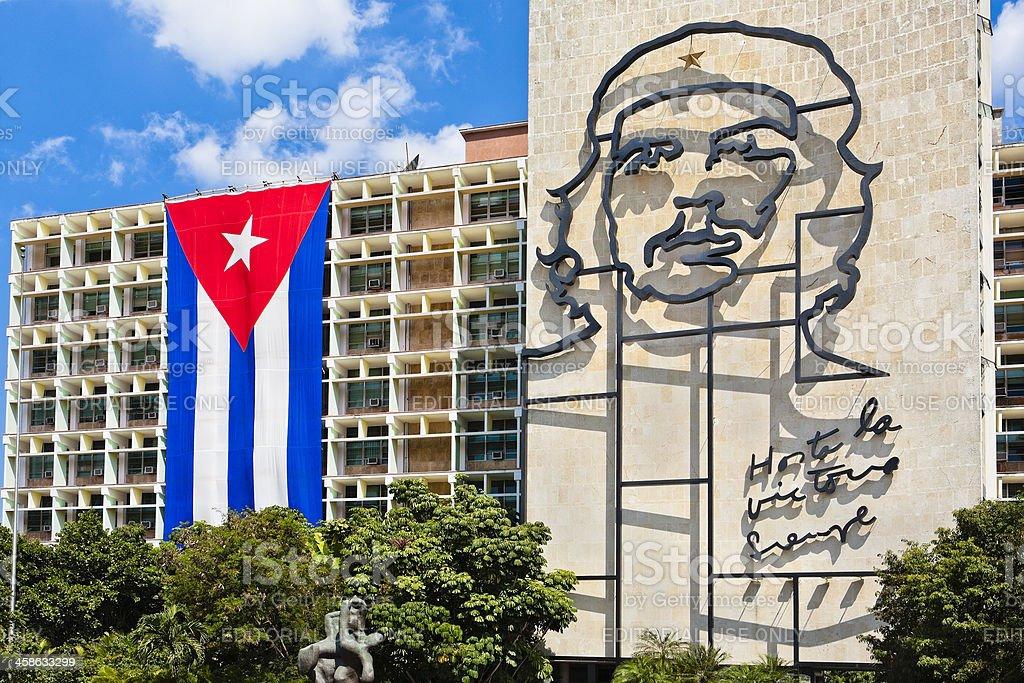 'Hasta La Victoria Siempre', Havana, Cuba royalty-free stock photo