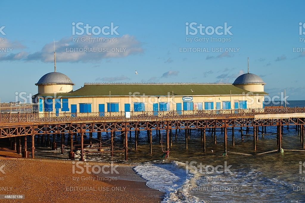 Hastings pier, England royalty-free stock photo