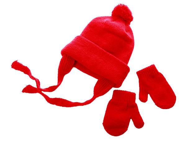 chapéu & mittens - mitene imagens e fotografias de stock