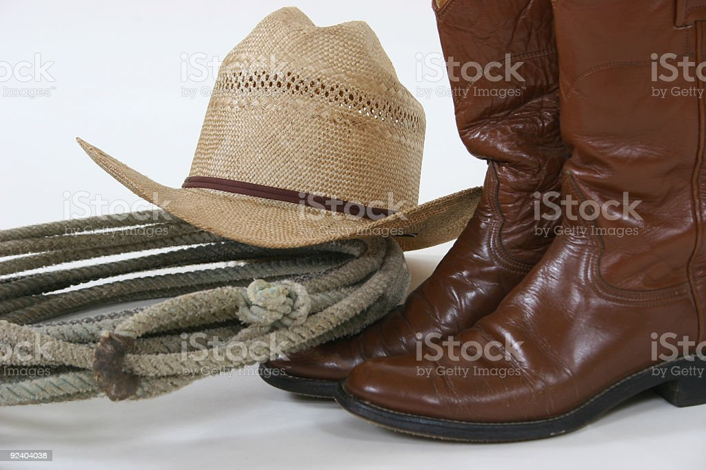 Hat and accessories royalty-free stock photo