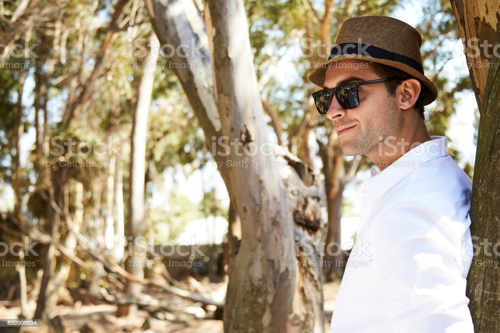 Hat And Shades Guy Stock Photo Download Image Now Istock