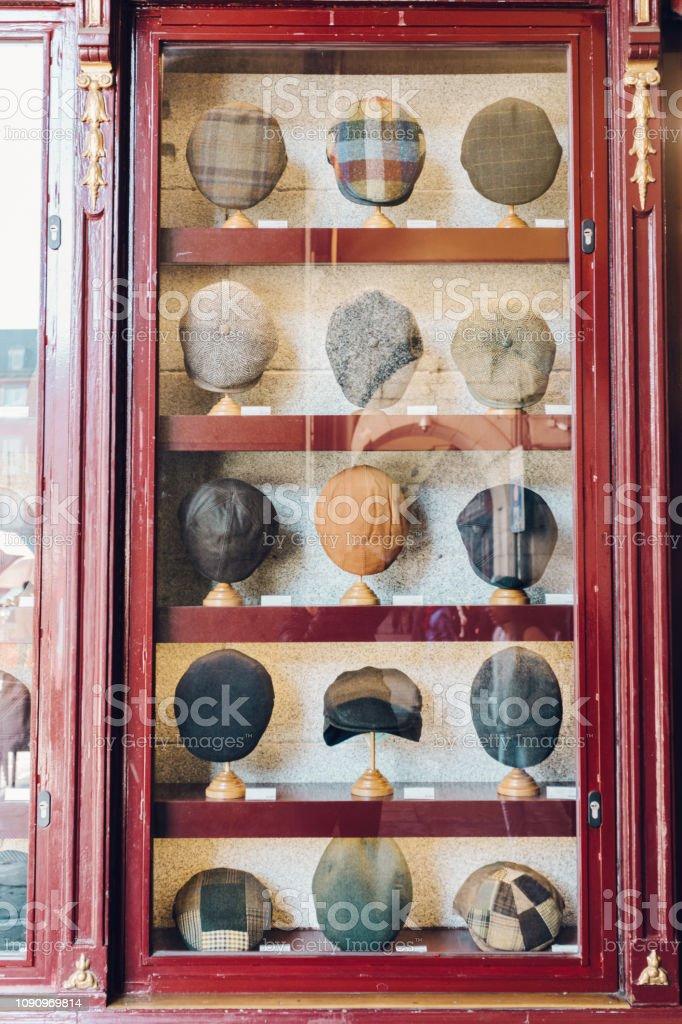 hat display stock photo