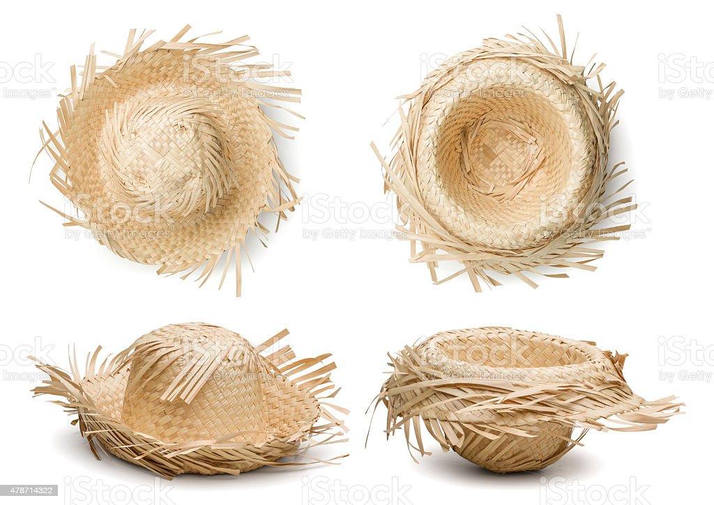 Hat for June Festival stock photo