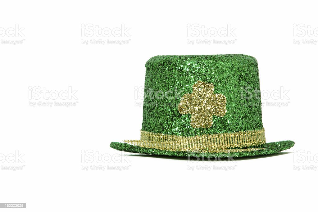 Hat for St. Patrick's Day royalty-free stock photo