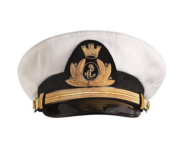 Chapeau officiers le devant. - Photo