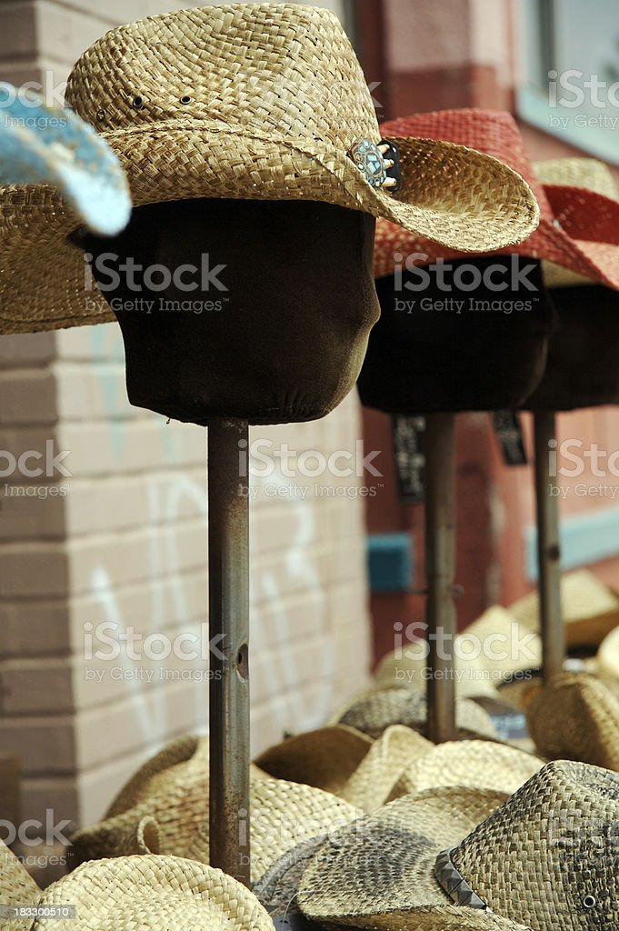 hat on mannequin royalty-free stock photo