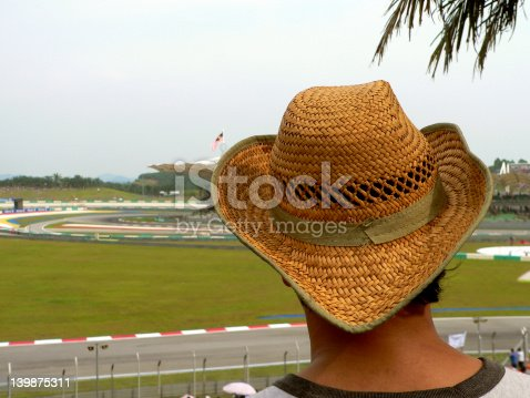 istock Hat on Spectator 139875311