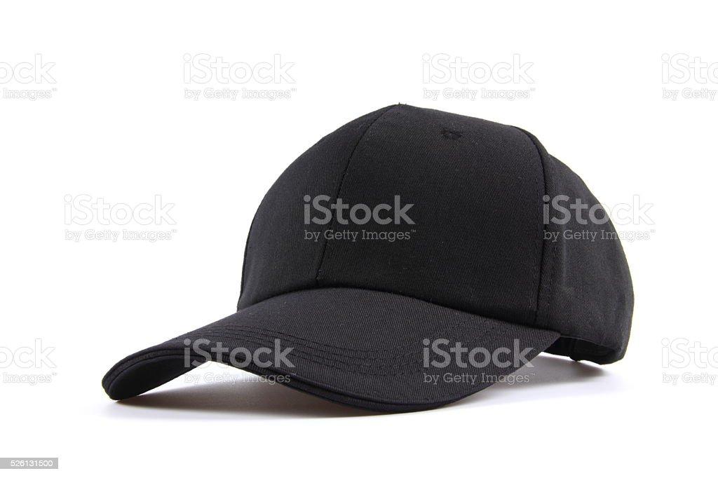 Hat on white background stock photo