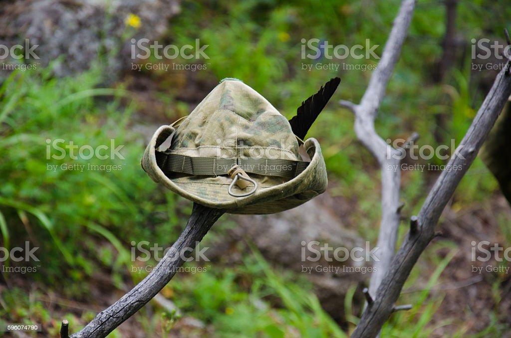 Hat Robin Hood royalty-free stock photo