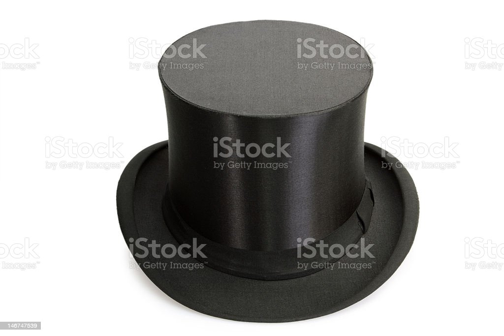 Chapeau Claque royalty-free stock photo
