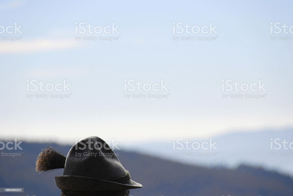 Mütze mit gamsbart – Foto
