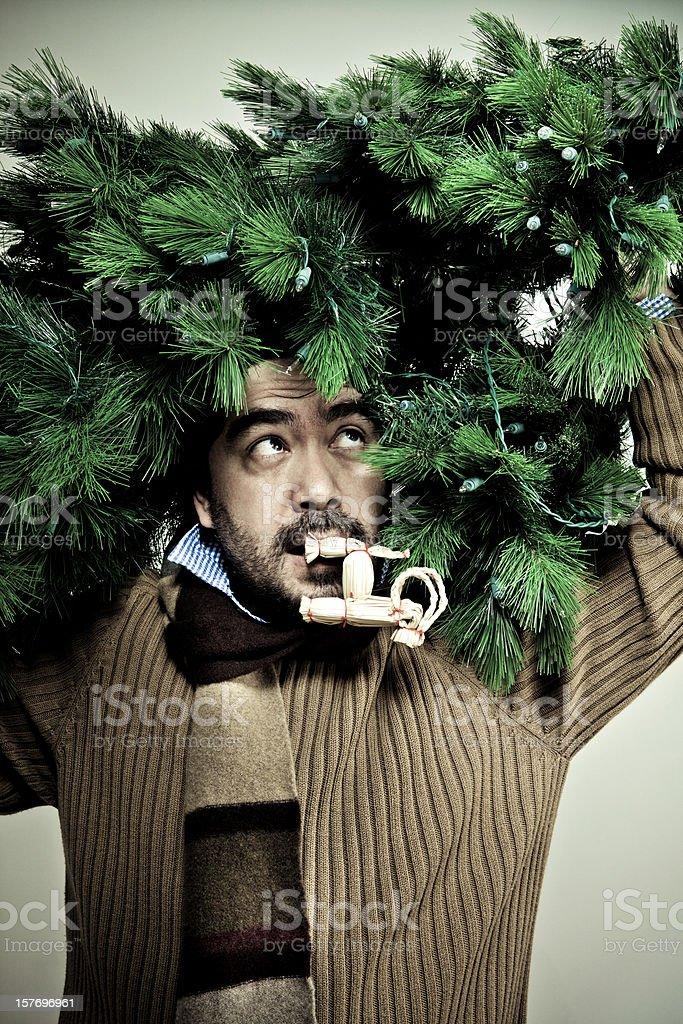 I Hate Christmas stock photo