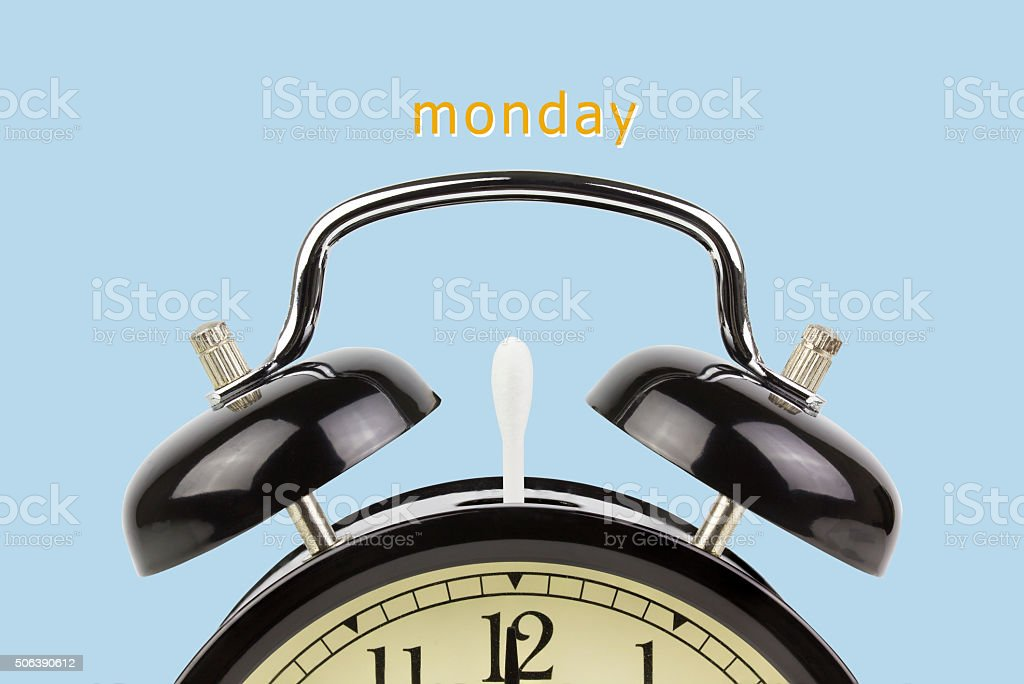 hate monday stock photo