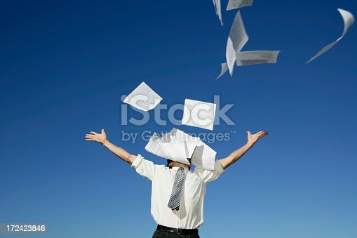 157312920 istock photo Hate Paperwork!!! 172423846