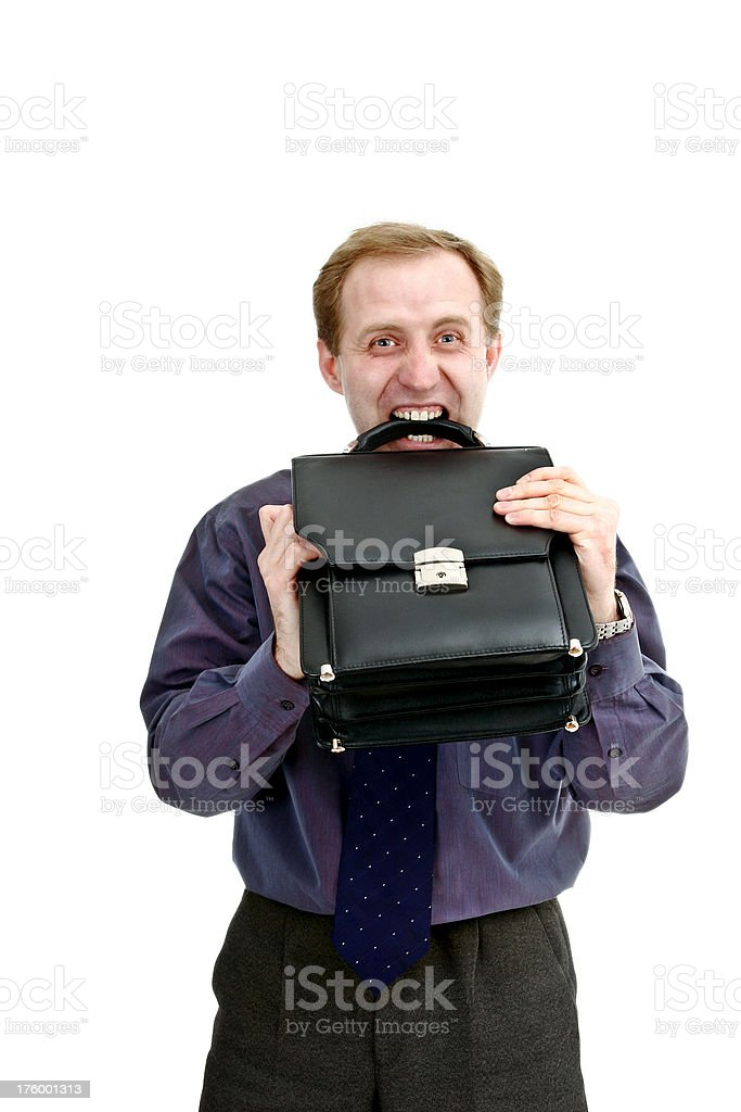 I hate this job!!! royalty-free stock photo
