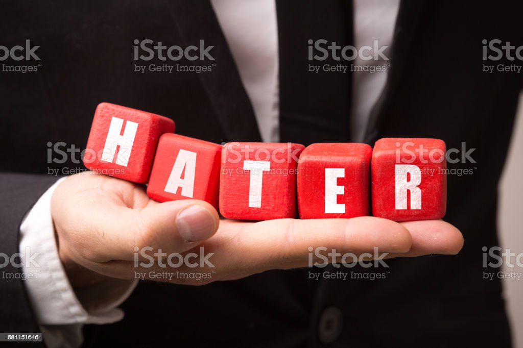 Hater stock photo