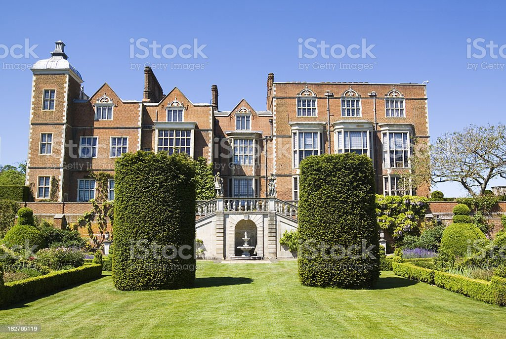 Hatfield House East Facade stock photo