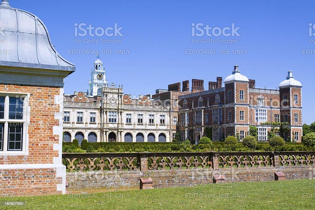 Hatfield House South Facade stock photo